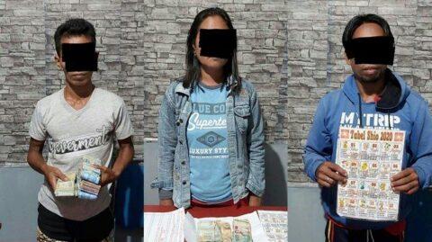 3 Warga Kabaruan yang Terlibat Perjudian Togel Diamankan di Mapolres Talaud